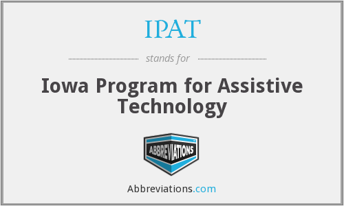 IPAT - Iowa Program for Assistive Technology
