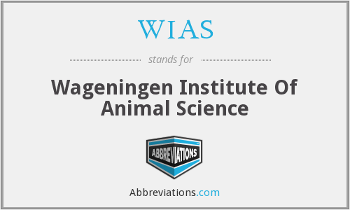 WIAS - Wageningen Institute Of Animal Science