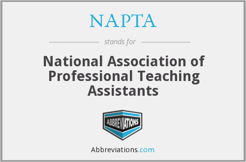 NAPTA - National Association of Professional Teaching Assistants
