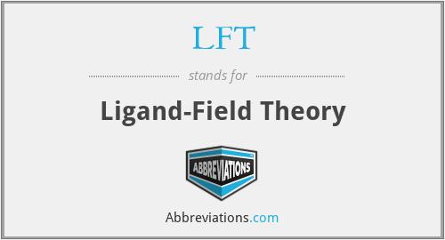 LFT - Ligand-Field Theory