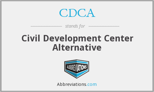 CDCA - Civil Development Center Alternative