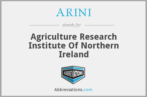 ARINI - Agriculture Research Institute Of Northern Ireland