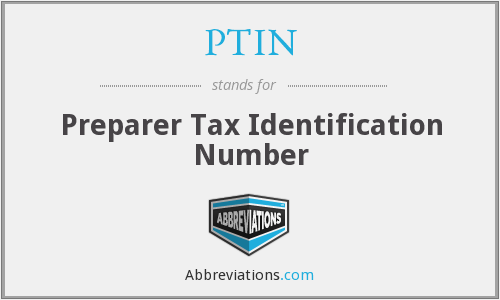 What does preparer stand for?