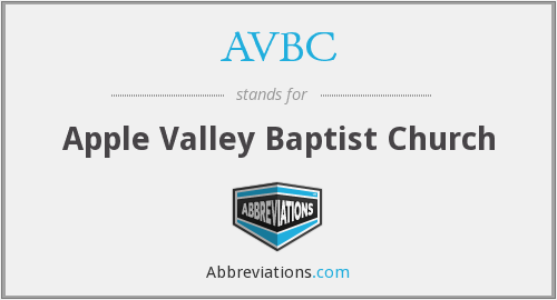 AVBC - Apple Valley Baptist Church