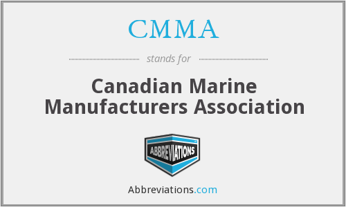 CMMA - Canadian Marine Manufacturers Association