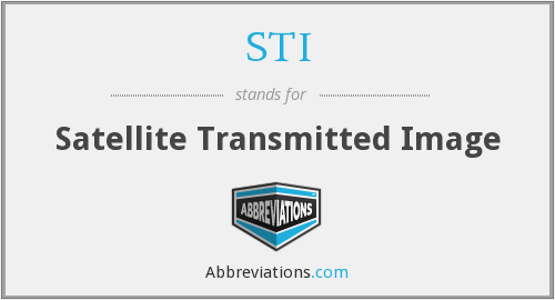 STI - Satellite Transmitted Image