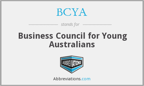 BCYA - Business Council for Young Australians