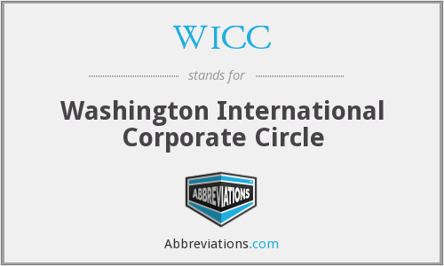 WICC - Washington International Corporate Circle