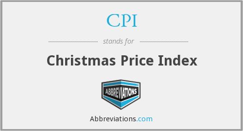 CPI - Christmas Price Index