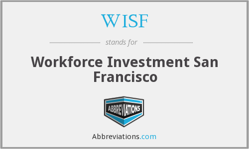 WISF - Workforce Investment San Francisco