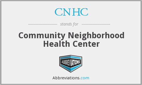 CNHC - Community Neighborhood Health Center