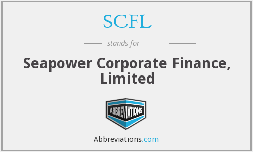 SCFL - Seapower Corporate Finance, Limited