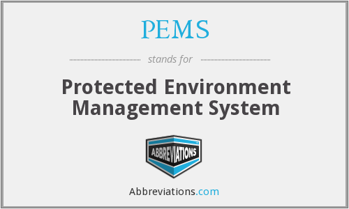 PEMS - Protected Environment Management System