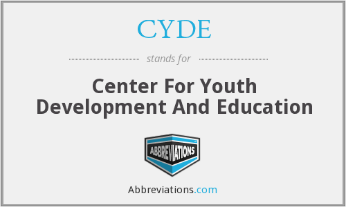 CYDE - Center For Youth Development And Education