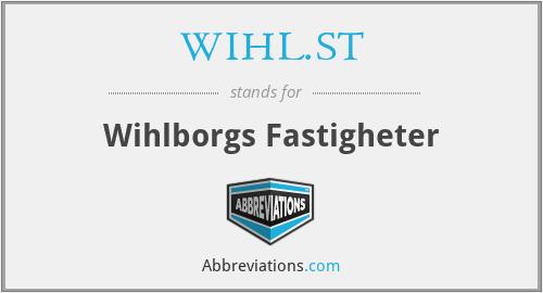 WIHL.ST - Wihlborgs Fastigheter