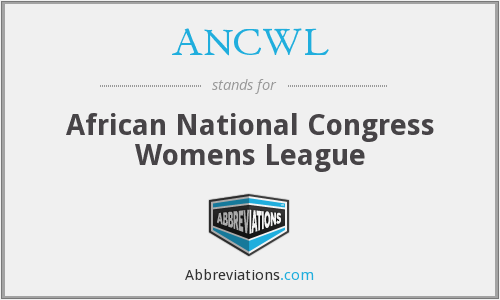 What does ANCWL stand for?