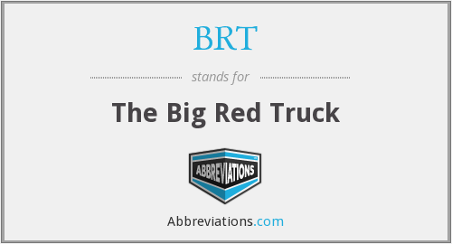 BRT - The Big Red Truck