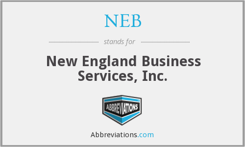 NEB - New England Business Services, Inc.