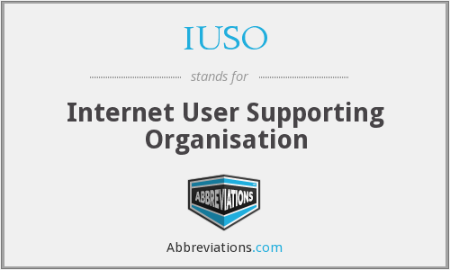 IUSO - Internet User Supporting Organisation