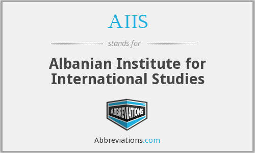 AIIS - Albanian Institute for International Studies