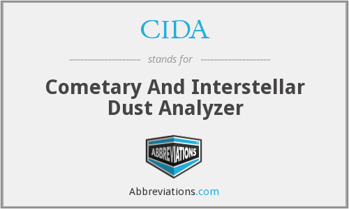 CIDA - Cometary And Interstellar Dust Analyzer