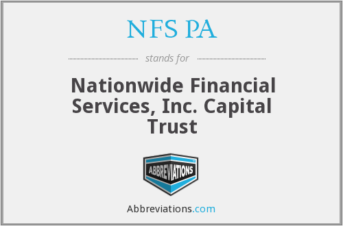 What does NFS PA stand for?