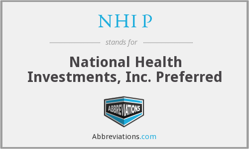NHI P - National Health Investments, Inc. Preferred