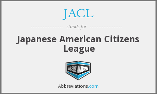 JACL - Japanese American Citizens League