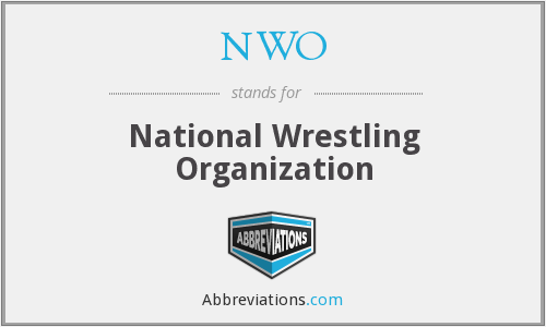 NWO - National Wrestling Organization