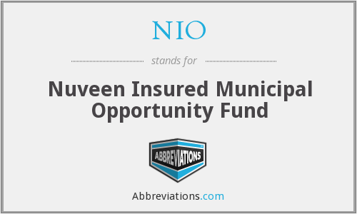NIO - Nuveen Insured Municipal Opportunity Fund