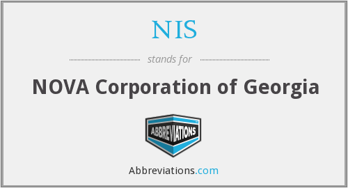 NIS - NOVA Corporation of Georgia