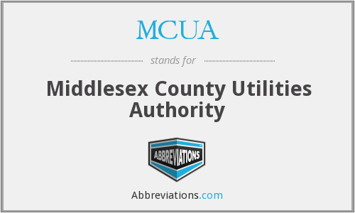 MCUA - Middlesex County Utilities Authority