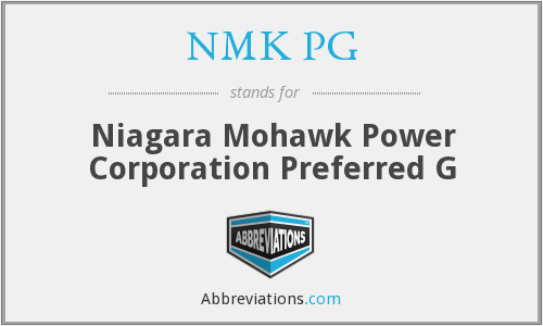 What does NMK PG stand for?