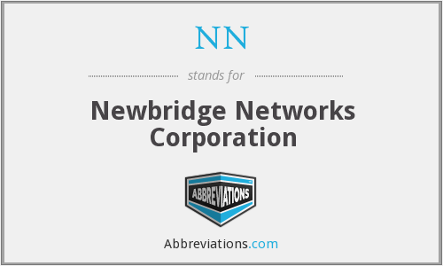 NN - Newbridge Networks Corporation