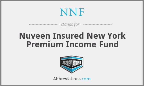 NNF - Nuveen Insured New York Premium Income Fund