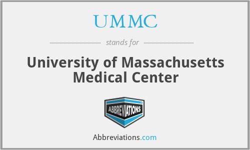 UMMC - University of Massachusetts Medical Center