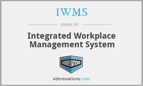 IWMS - Integrated Workplace Management System