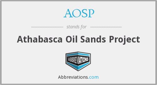 AOSP - Athabasca Oil Sands Project