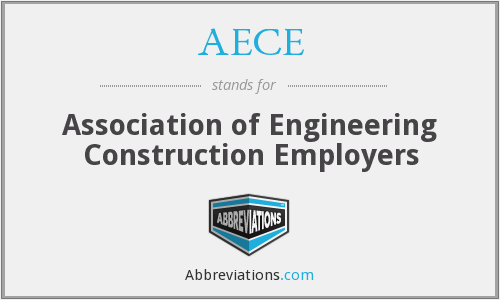 AECE - Association of Engineering Construction Employers