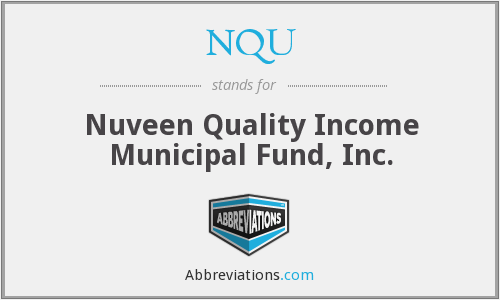 What does NQU stand for?
