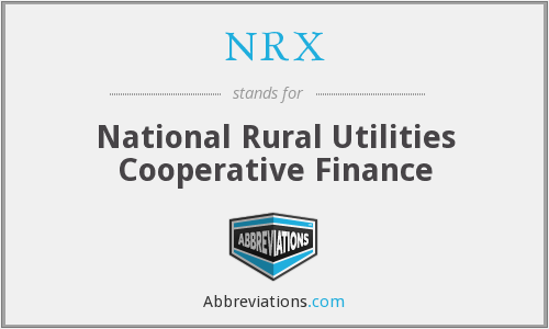 NRX - National Rural Utilities Cooperative Finance