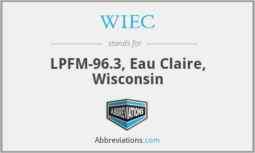 WIEC - LPFM-96.3, Eau Claire, Wisconsin