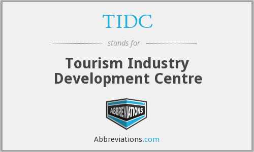 TIDC - Tourism Industry Development Centre