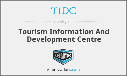 TIDC - Tourism Information And Development Centre