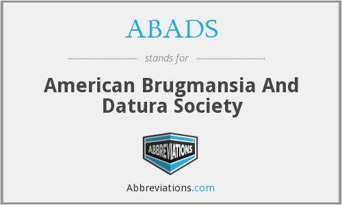 ABADS - American Brugmansia And Datura Society