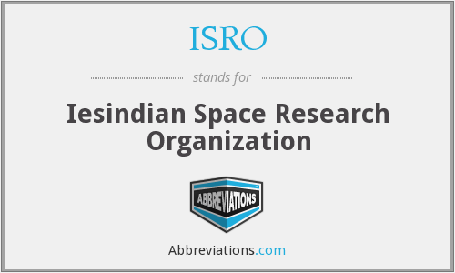 What does ISRO stand for?