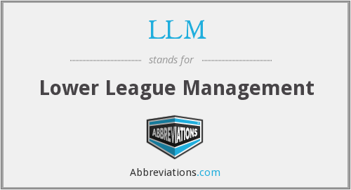 LLM - Lower League Management