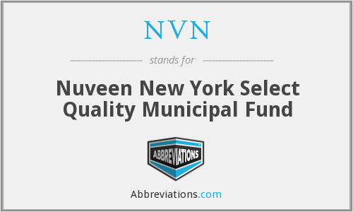 NVN - Nuveen New York Select Quality Municipal Fund