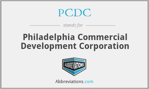 PCDC - Philadelphia Commercial Development Corporation