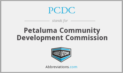 PCDC - Petaluma Community Development Commission